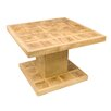Castleton Home Coffee table made of glazed wood