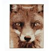 Castleton Home Cahors WILDLIFE Fox Beige Area Rug