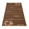 Castleton Home Hand Woven Brown Area Rug