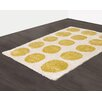 Castleton Home Frisée Yellow Area Rug