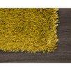 Castleton Home Teppich Shagi in Grün