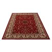 Castleton Home Red Oriental Area Rug
