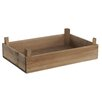 Castleton Home Rustic Wooden Tomato Crate