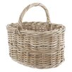 Castleton Home Rattan Straight Shopper Basket