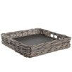 Castleton Home Rattan Tray