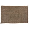 Castleton Home Handmade Brown Area Rug