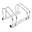 Castleton Home Floor/Wall Mounted Bike Rack Silver