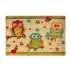 Castleton Home 3 Owls on Branches Doormat