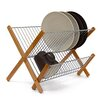 Castleton Home Cross Bamboo/Stainless Steel Draining Rack