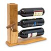 Castleton Home 3 Bottle Tabletop Wine Rack