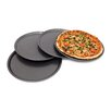 Castleton Home 33cm Pizza Crisper Baking Plate (Set of 4)