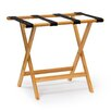 Castleton Home Wooden Suitcase Stand