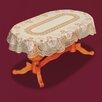 Castleton Home Oval Tablecloth