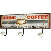 Castleton Home Drink Coffee Wall Hook