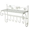 Castleton Home Flower Coat Rack