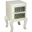 Castleton Home Glam 2 Drawer Bedside Table