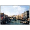 Castleton Home 'Rialto Bridge' by Canaletto Graphic Art