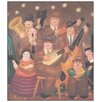 Castleton Home 'Los Musicos' by Botero Art Print