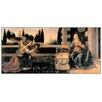 Castleton Home 'Annunciazione' by Leonardo Da Vinci Art Print