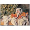 Castleton Home 'Stilleben Mit Früchten' by Cezanne Art Print