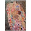 Castleton Home 'Death And Life' by Gustav Klimt Art Print