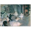 Castleton Home 'The Rehearsal on Stage' by Degas Art Print