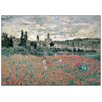 Castleton Home 'Champs De Coquelicots Press De Vetheuil' by Monet Art Print