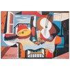 Castleton Home 'Mandolino E Chitarra, 1924' by Pablo Picasso Art Print