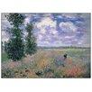 Castleton Home 'Les Coquelicots Environs D'Argenteuil' by Monet Art Print