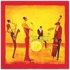 Castleton Home 'Jazz Band' by Ona Art Print