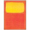 Castleton Home 'Orange and Yellow' by Rothko Art Print