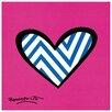 Castleton Home 'Zig Zag Love' by Britto Graphic Art