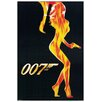 Castleton Home 'James Bond' Graphic Art