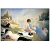 Castleton Home 'Baignade A Asnieres' by Seurat Art Print