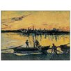 Castleton Home 'Arles Le Port Le Soir' by Vincent Van Gogh Gogh Art Print