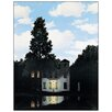 Castleton Home 'L'Empire Des Lumieres' by Magritte Photographic Print