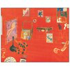 Castleton Home 'Lo Studio Rosso' by Matisse Art Print