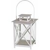 Castleton Home Cross Hatch Metal Lantern