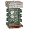 Castleton Home Spice Rack with 12 Jars