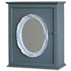 Castleton Home Framed Mirror Cabinet Wall Décor