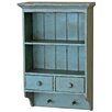 Castleton Home 2 Shelf Wall Cabinet