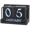 Castleton Home Decorative Desk Calendar Blocks