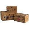 Castleton Home 3 Piece Shoe/Pharmacie/Sewing Box Set