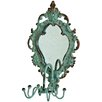 Castleton Home Mirror with Rotating Wall Hook