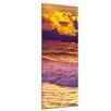 "Castleton Home Leinwandbild ""Strand Sonnenuntergang III"", Fotodruck"