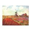 """Castleton Home Leinwandbild """"Alte Meister Tulpen"""" von Holland von Claude Monet, Kunstdruck"""