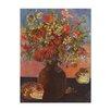 """Castleton Home Leinwandbild """"Alte Meister Blumen und Katzen"""" von Paul Gauguin, Kunstdruck"""