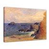 "Castleton Home Leinwandbild ""Alte Meister Felsige Meerküste"" von Paul Gauguin, Kunstdruck"