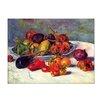 """Castleton Home Leinwandbild """"Stillleben mit Südfrüchten"""" von Pierre Auguste Renoir, Kunstdruck"""
