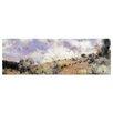 """Castleton Home Leinwandbild """"Starker Wind"""" von Pierre Auguste Renoir, Kunstdruck"""